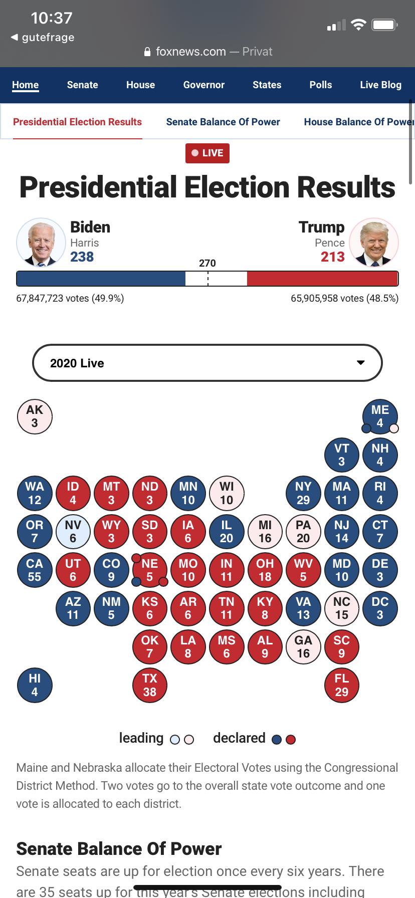 Wann Ist Wahl In Usa