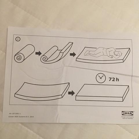 Hier sieht man es einmal  - (Haus, Bett, IKEA)