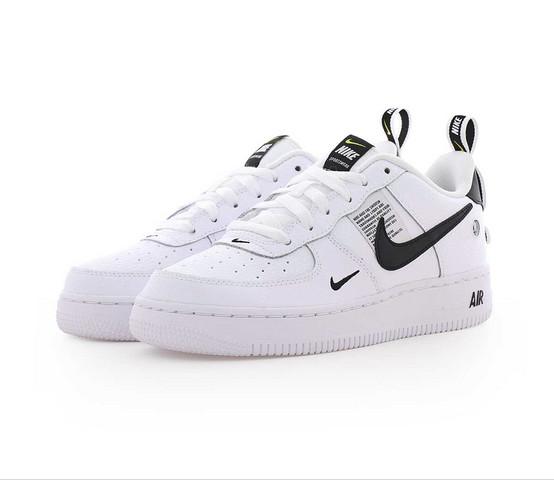 Nike Air Force 1 Utility WHITE WHITE BLACK TOUR YELLOW