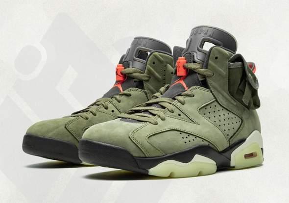 Wann kommen die Travis Scott x Nike AJ6 raus? (Mode, Schuhe)