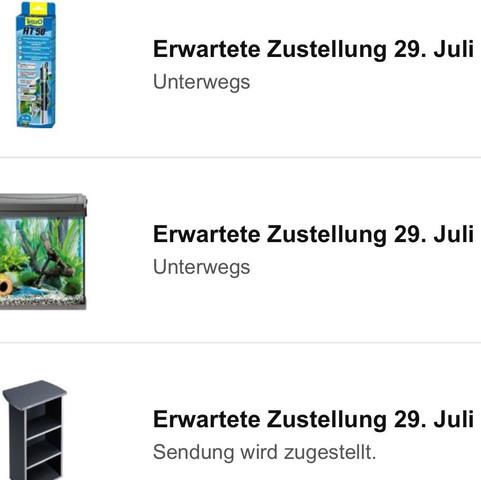 screenshot von Amazon - (Amazon, Bestellung, Packet)