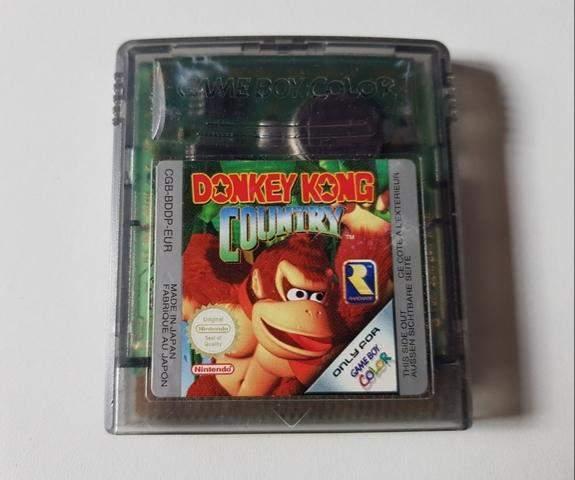 War ich damals der einzige, der die Gameboy Color Version von Donkey Kong Country besaß 😅?