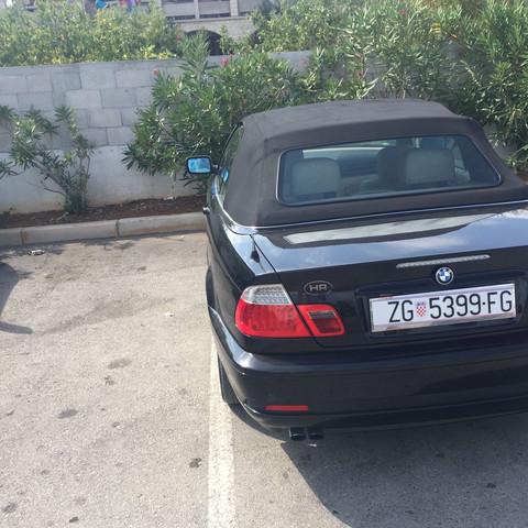 Der BMW von hinten  - (Auto, Auto und Motorrad, BMW)