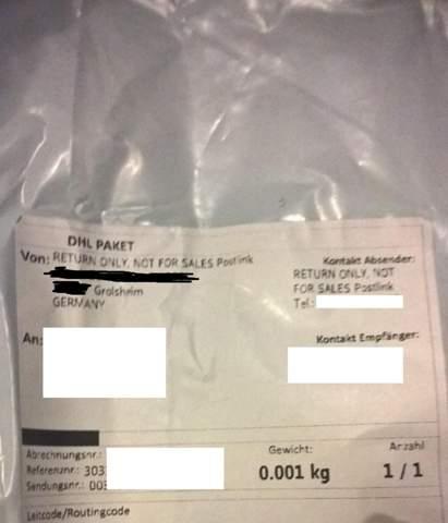 Ware aus China - Versandschein mit ABS aus DE: Hat der Zoll mein Päckchen umfrankiert oder was ist geschehen?