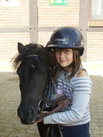 Peter und ich Sommer 2005 :) - (Pferde, Junkern Beel)