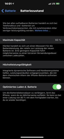 Warum altert mein Akku beim IPhone so schnell?