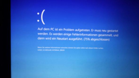 Fehlermeldung - (Windows 10, PC-Problem, Pc absturz)