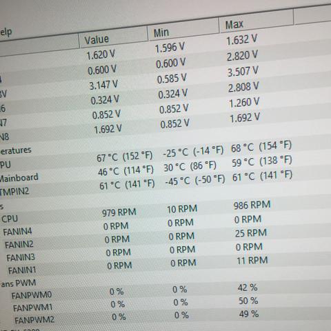 Warum dreht mein CPU Lüfter nicht schneller , dadurch überhitzt die CPU?