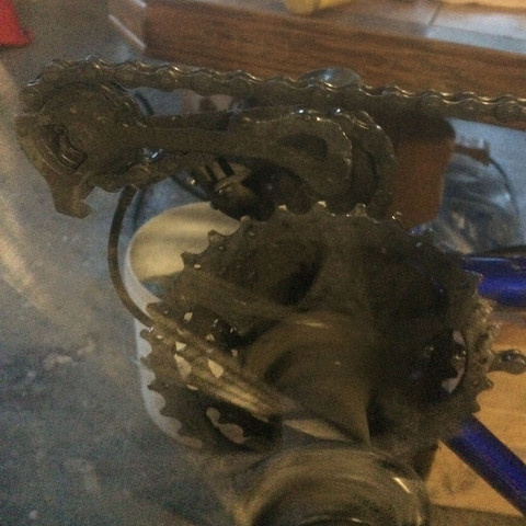 Bild 2 wenn sich das Rad dreht funktioniert es - (Fahrrad, Fahrradkette)
