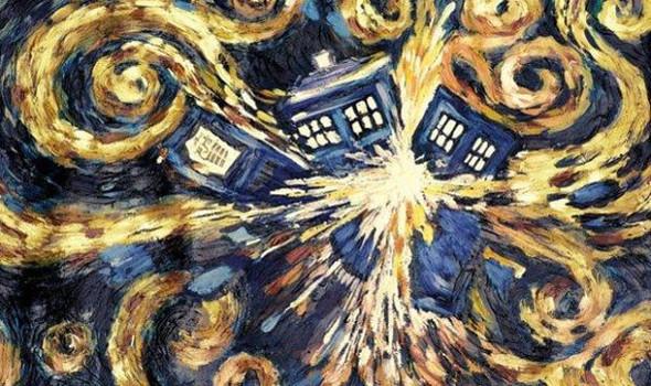 TARDIS EXPLODIERT - (Doctor Who, tardis)