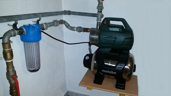 Fabulous Warum fällt bei meinem Hauswasserwerk, beim Pump- bzw UJ63