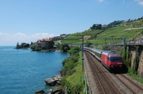 Zug in der Schweiz - (Bahn, Schweiz, Züge)