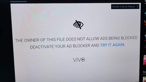 Warum funktioniert  Vivo nicht mehr auf Samsung Smart TV? ?