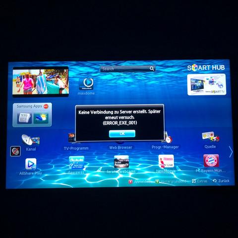 Warum funktioniert die Internetverbindung bei meinem Samsung Tv nicht?