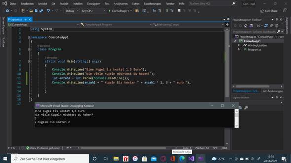 """Warum funktioniert dieser """"Code"""" nicht?"""