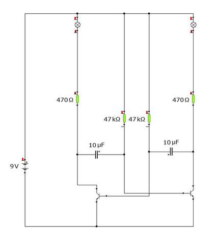 warum funktioniert meine schaltung nicht schule technik licht. Black Bedroom Furniture Sets. Home Design Ideas