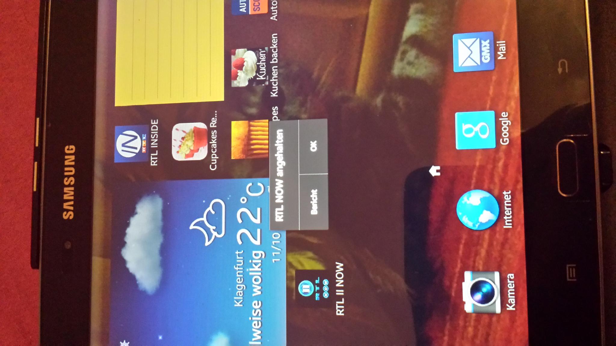 warum funktioniert rtl now auf meinem android tab nicht. Black Bedroom Furniture Sets. Home Design Ideas