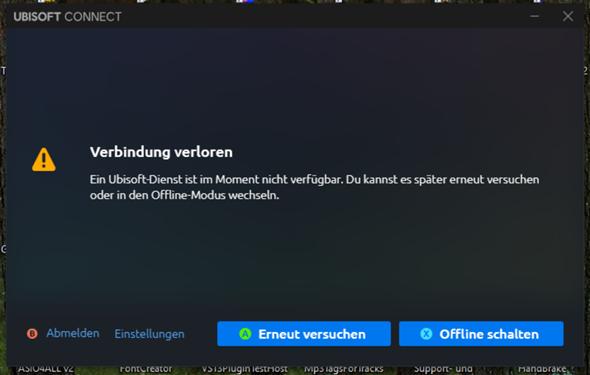 Warum funktioniert Ubisoft Connect gar nicht?