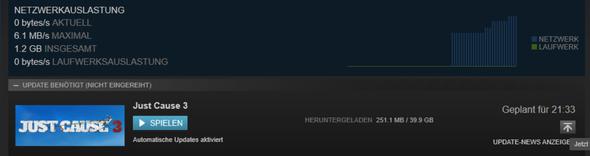 fehler - (Spiele, Steam, Installation)