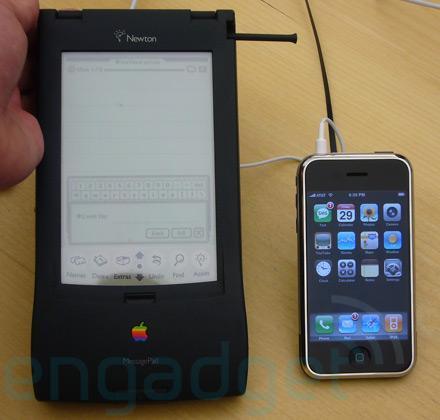 Newton, IPhone - (iPhone, Apple, Newton)