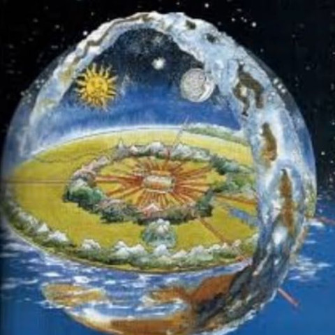 Erde soll flach sein.... aja  - (Natur, Erde, Astronomie)