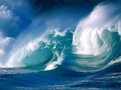 Wasser Wellen - (Physik, Chemie, Biologie)