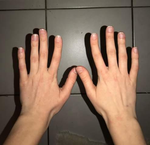 Warum habe ich lange Finger?
