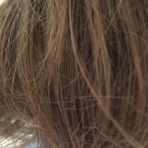 Haare keine struktur