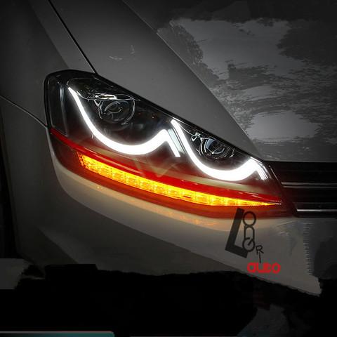 Hier die typischen modernen Autos mit Xeon or normalen Licht leuchten blau, weiß - (Technik, Auto, Licht)