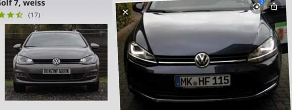 Warum hat der Golf 7 mit Xenon Unterschiedliches Tagfahrlicht?