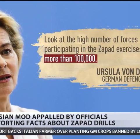 Ursula und 100.000 Russen  - (Politik, Deutschland, Russland)