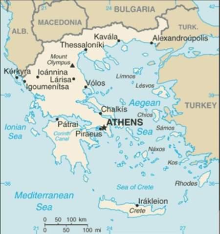 Warum hat Griechenland nur so wenig Einwohner?