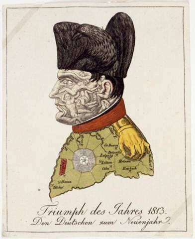 - (Karikatur, Napoleon)