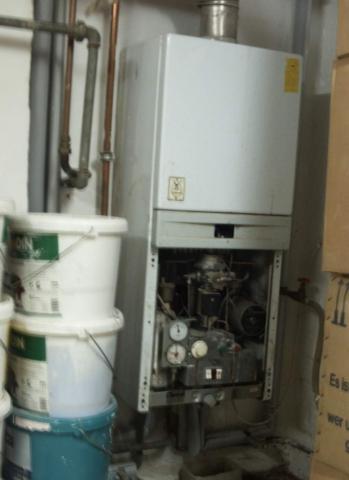 Warum Heizt unsere alte Vaillant Gas Therme seit gestern fast gar nicht mehr?