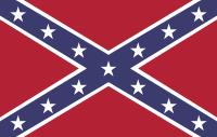 die Rebel Flag der amerikanischen Südstaaten - (Amerika, Flagge, Sklaverei)
