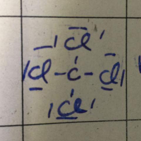 Warum ist CCl4 kein Dipolmolekül? (Chemie, elektronegativitaet ...