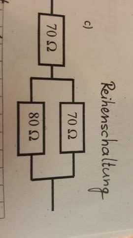 - (Physik, Elektrizitätslehre, parallelschaltung von Widerständen)