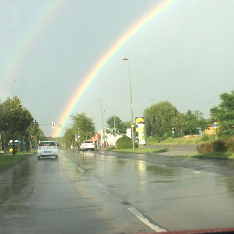 Regenbogen - (Farbe, Wetter, Regen)