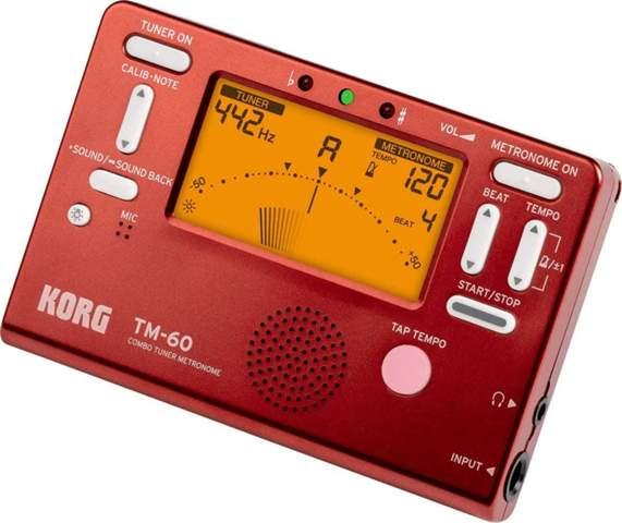 Warum ist der rote metronom korg tm 60 nicht mehr in der Farbe erhältlich?