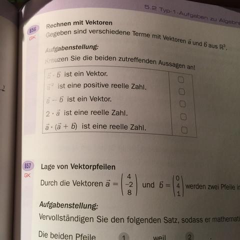 Nummer 656 - (Mathematik, Rechnen, vektoren)