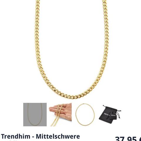 38€ von trendhim - (Asos, Goldkette, trendhim)