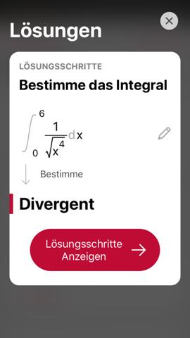 Warum ist dieses Integral divergent?