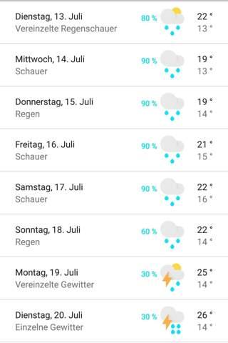 Warum ist dieses Jahr im Sommer fast immer schlechtes Wetter?