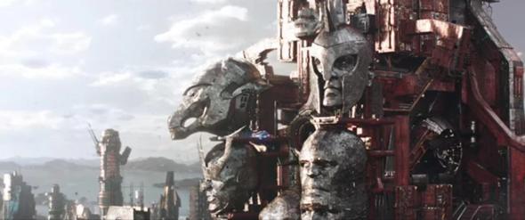 Warum ist dort Thanos zu sehen?