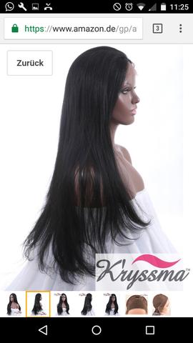 lace frontal amazon - (Perücke, lace wig)