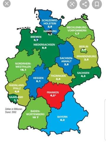 Beliebtestes Bundesland Deutschland