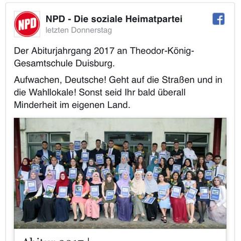 NPD Text - (Menschen, Politik, Abitur)