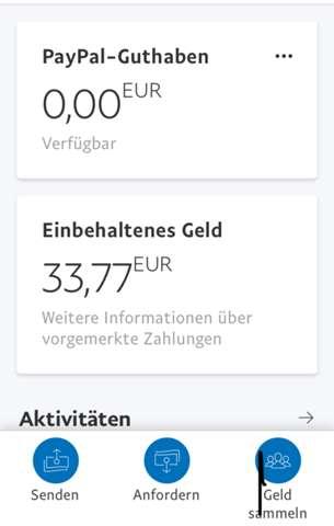 Paypal Geld Einbehalten