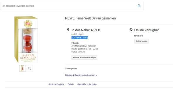 Warum ist Safran so teuer? Warum kann man ihn nicht in Gewächshäusern überall massenhaft anbauen?