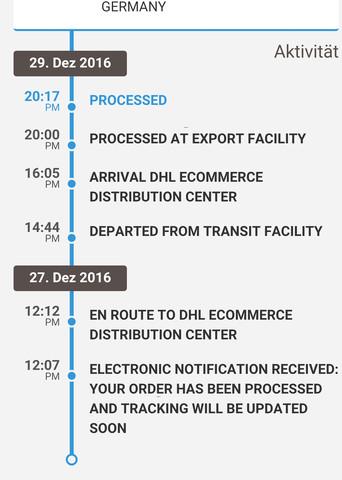- (Ausland, Paket, Bestellung)
